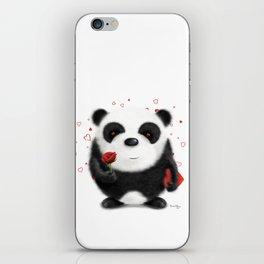 Valentine's Panda by dana alfonso iPhone Skin