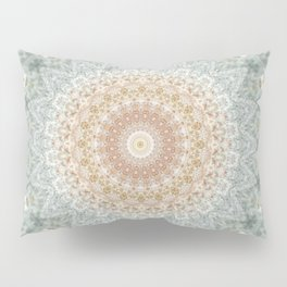 Mandala Snow Queen Pillow Sham