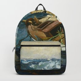Winslow Homer1 - The Gulf Stream - Digital Remastered Edition Backpack