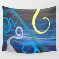 doodle Wall Tapestries featuring Doodle by Kristin Rodgers