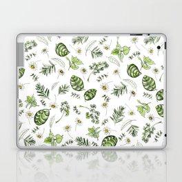 Scattered Garden Herbs Laptop & iPad Skin