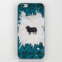Black Sheep iPhone Skin