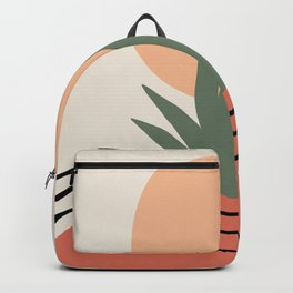 Desert Sunrise, Abstract, Minimal Art Backpack