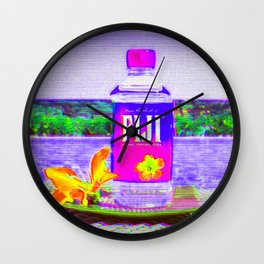 Fiji Water Wall Clock