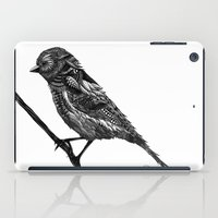 ornate iPad Cases featuring Ornate Bird by ZantosDesign