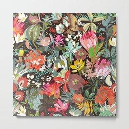 Floral maximalism Metal Print