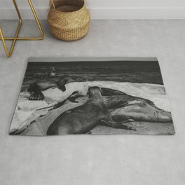 Water Puppies Rug