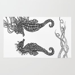 Seahorses love Rug