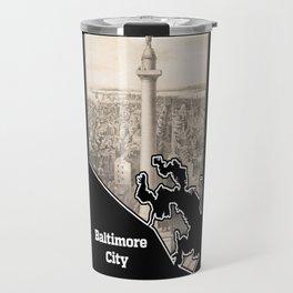 Washington Monument, Baltimore Travel Mug