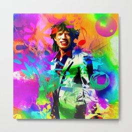 M. Jagger Metal Print