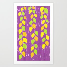 SOUND LEAVES Art Print