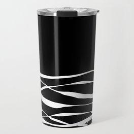 A Bottomless Sea 3 Black and White Travel Mug