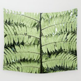 Monteverde Cloud Forest Fern Wall Tapestry