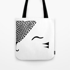 Cute Tiger / Cat Tote Bag