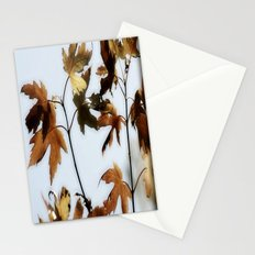 When Leaves fall Stationery Cards