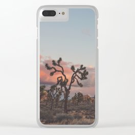 Joshua Tree Sunset No.2 Clear iPhone Case