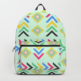 Colorful arrow pattern Backpack