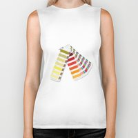 pantone Biker Tanks featuring PANTONE by VincenzoRusso