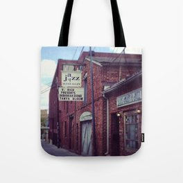 Blues Alley (Washington, DC) Tote Bag