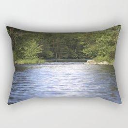 Relaxing View To The Lake Rectangular Pillow
