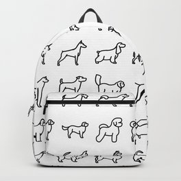 CUTE DOGS / PUPPIES PATTERN Backpack
