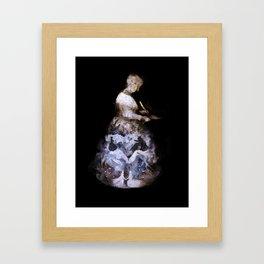 Madame de Villeneuve Framed Art Print