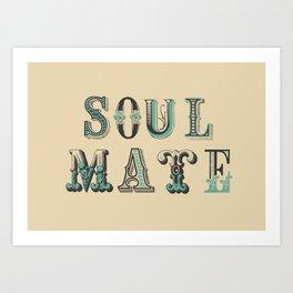 Soul Mate Art Print