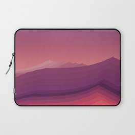 iso mountain evening Laptop Sleeve