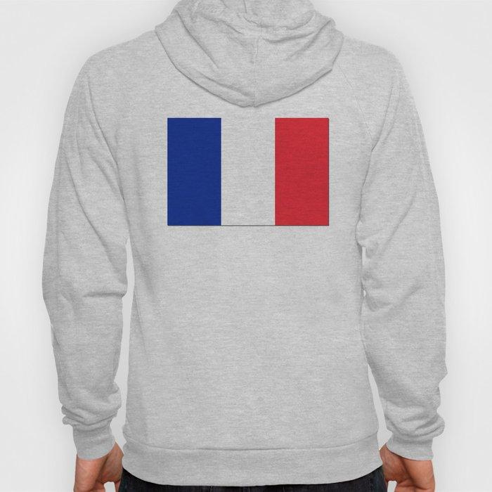France Flag Shadow Hoody