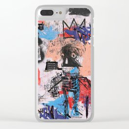 SAMO is Alive Clear iPhone Case
