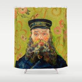 Vincent van Gogh - The Postman Shower Curtain