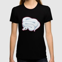 Blue Leucistic Ball Python T-shirt