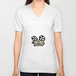 video projector Unisex V-Neck
