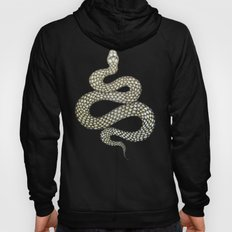 Snake's Charm in Black Hoody