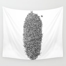Bee Hive Wall Tapestry