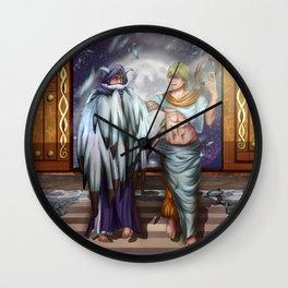 philosophers Wall Clock