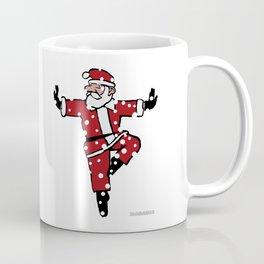 Dancing Santa - 3 Coffee Mug