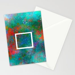 White square Stationery Cards
