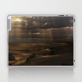 Sunny shower Laptop & iPad Skin