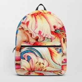 The Shape of Flowers Backpack