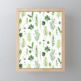 Leaves Framed Mini Art Print