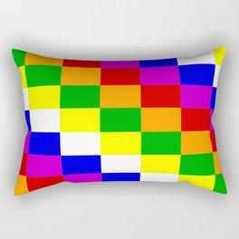 Aymara people ethnic flag Rectangular Pillow