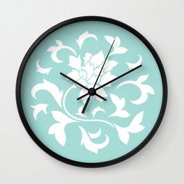 Oriental Flower - Limpet Shell Wall Clock