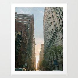 Philly Street View Art Print