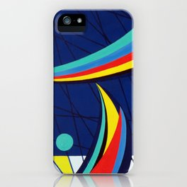 Sails - Paint iPhone Case