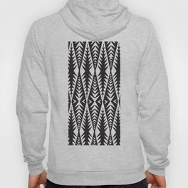 African Tribal Pattern No. 88 Hoody
