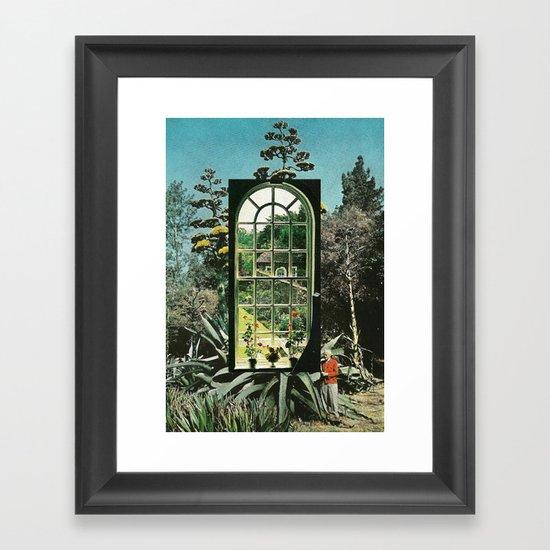 UNTITLED (Lo que aun no sabemos) Framed Art Print