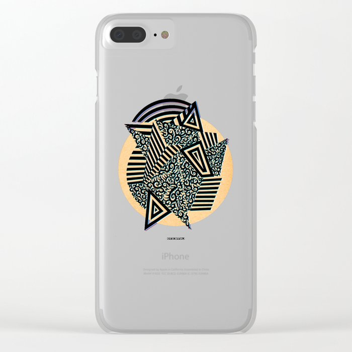 - confess - Clear iPhone Case