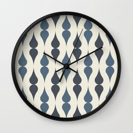 Remington in Blue Wall Clock