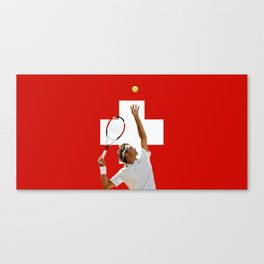 Roger Federer | Tennis Canvas Print